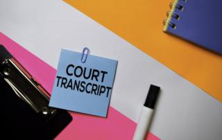 court hearing recorded transcript transcription syracuse ny