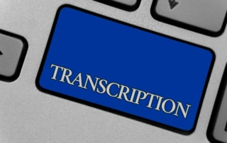 medical, legal, insurance transcription service