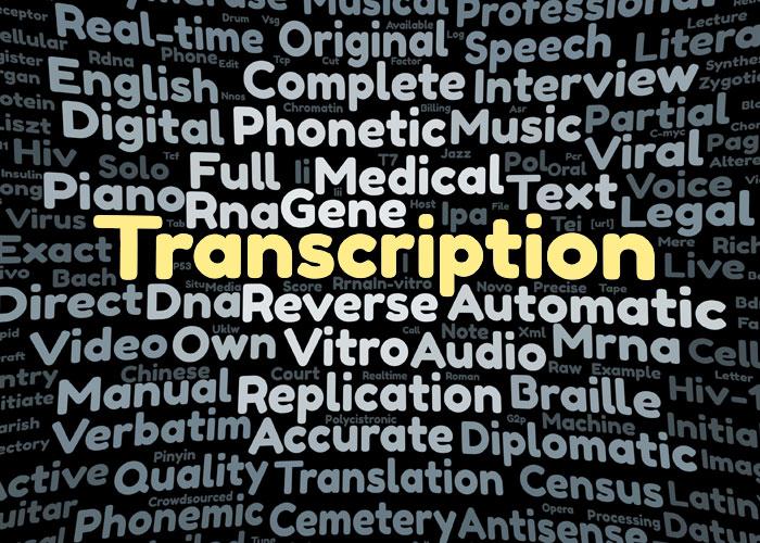 Professional Transcription Service - Syracuse NY